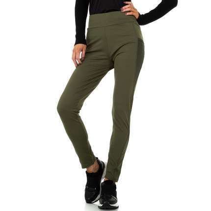 Damen Leggings von Fashion - khaki