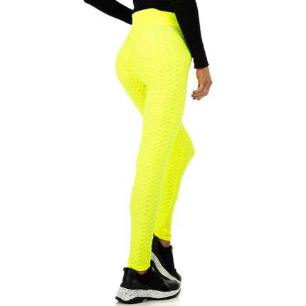 Damen Leggings von Fashion - yellow