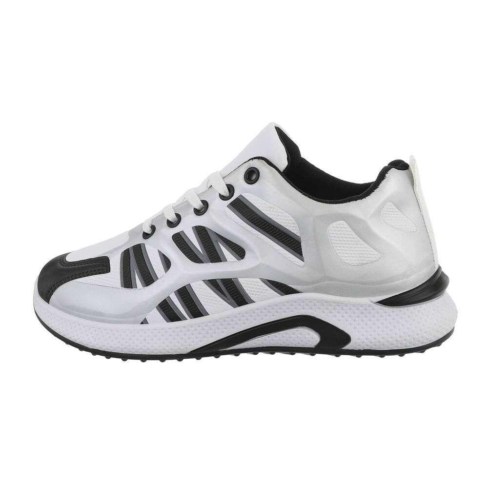 Pantofi casual pentru bărbați - argintii
