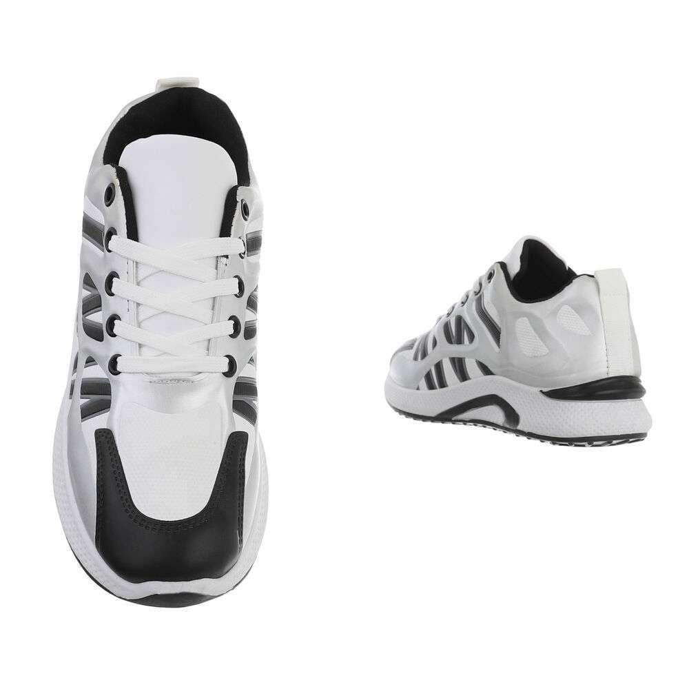 Pantofi casual pentru bărbați - argintii - image 3