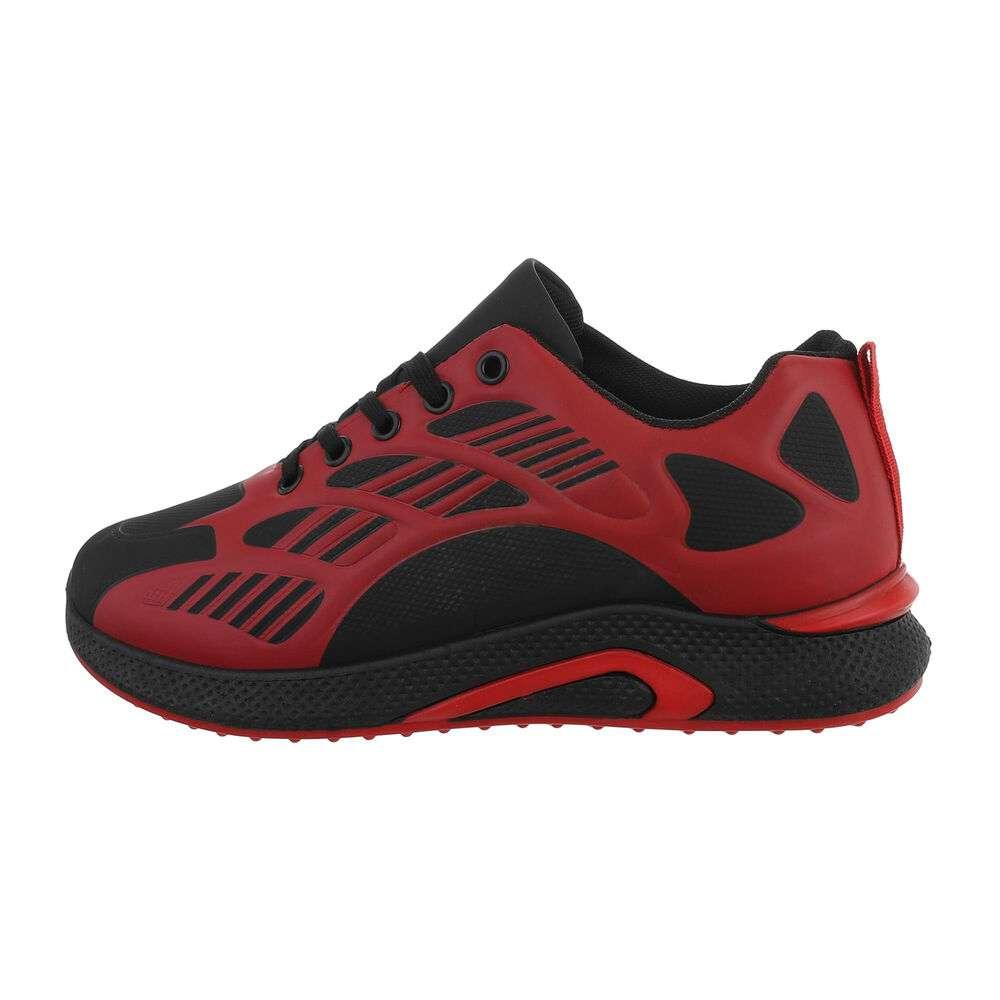 Pantofi casual pentru bărbați - roșii