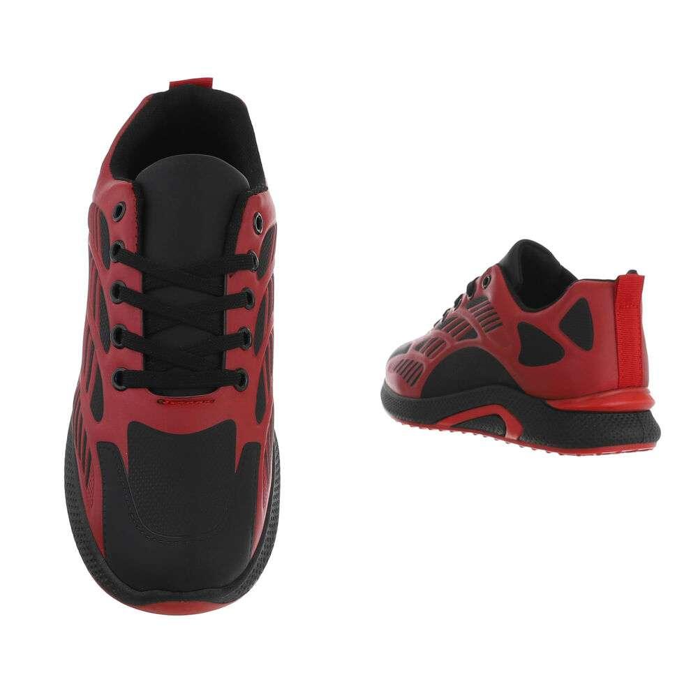 Pantofi casual pentru bărbați - roșii - image 3