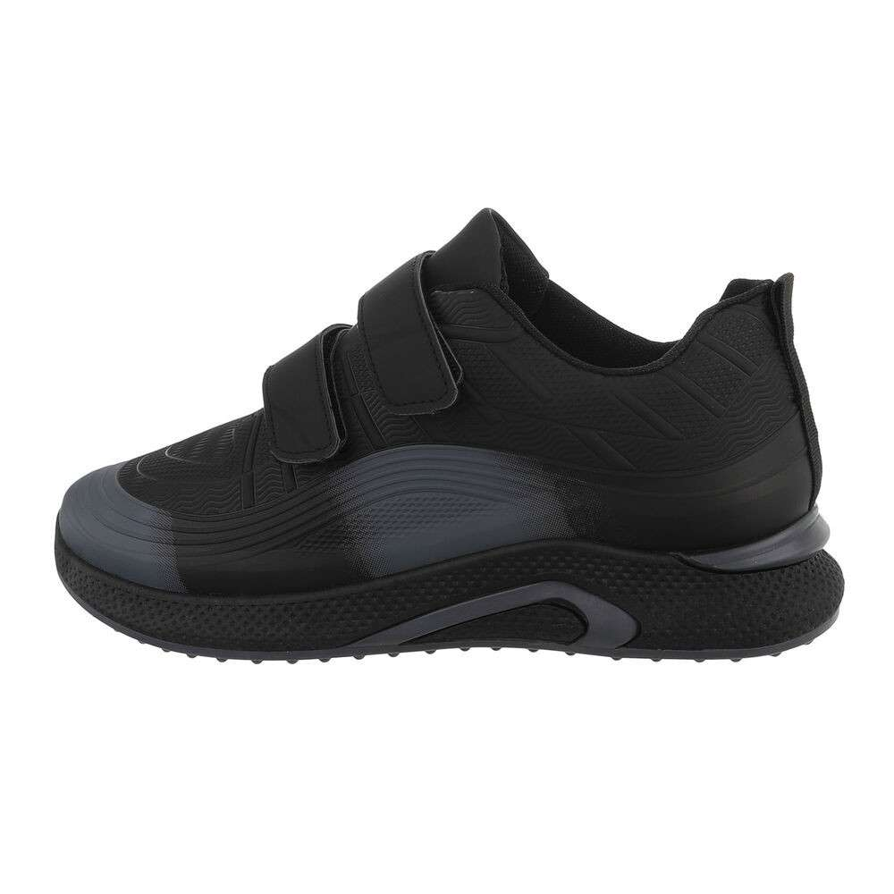 Pantofi casual pentru bărbați - negru-gri