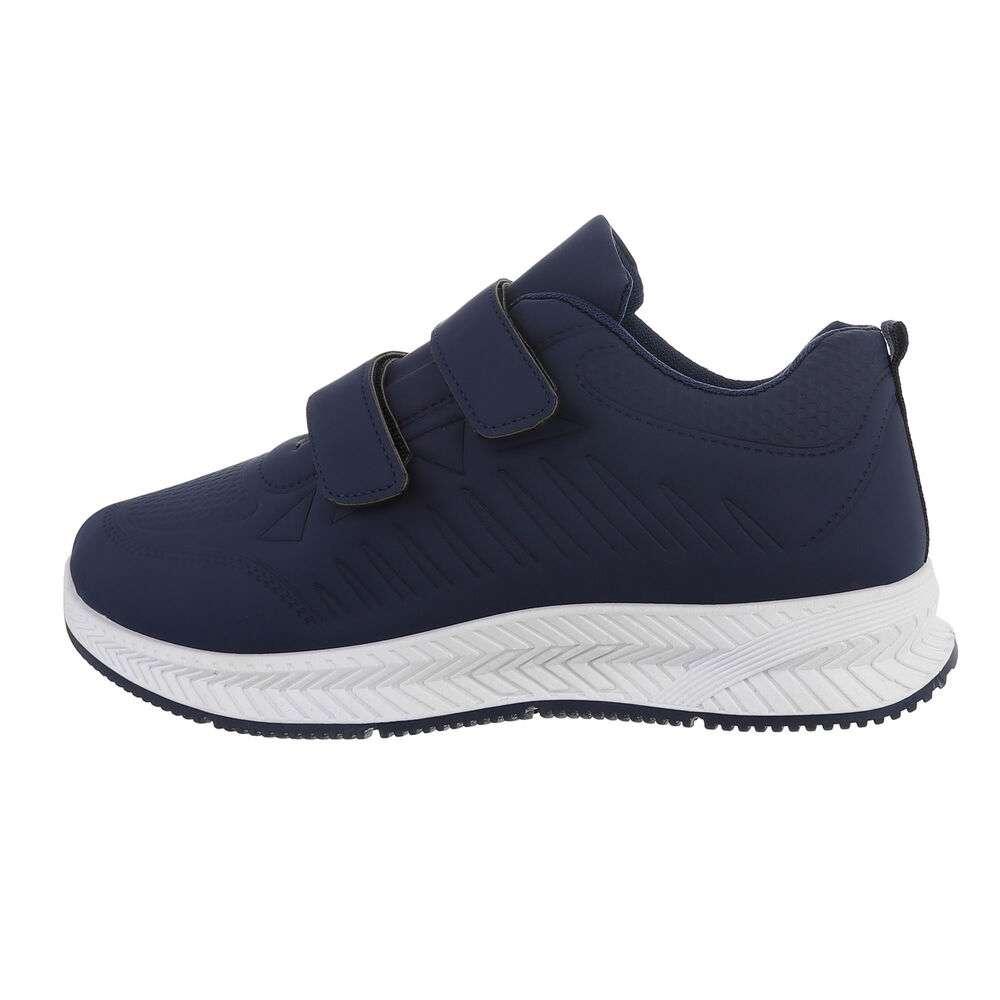 Pantofi casual pentru bărbați - albastru