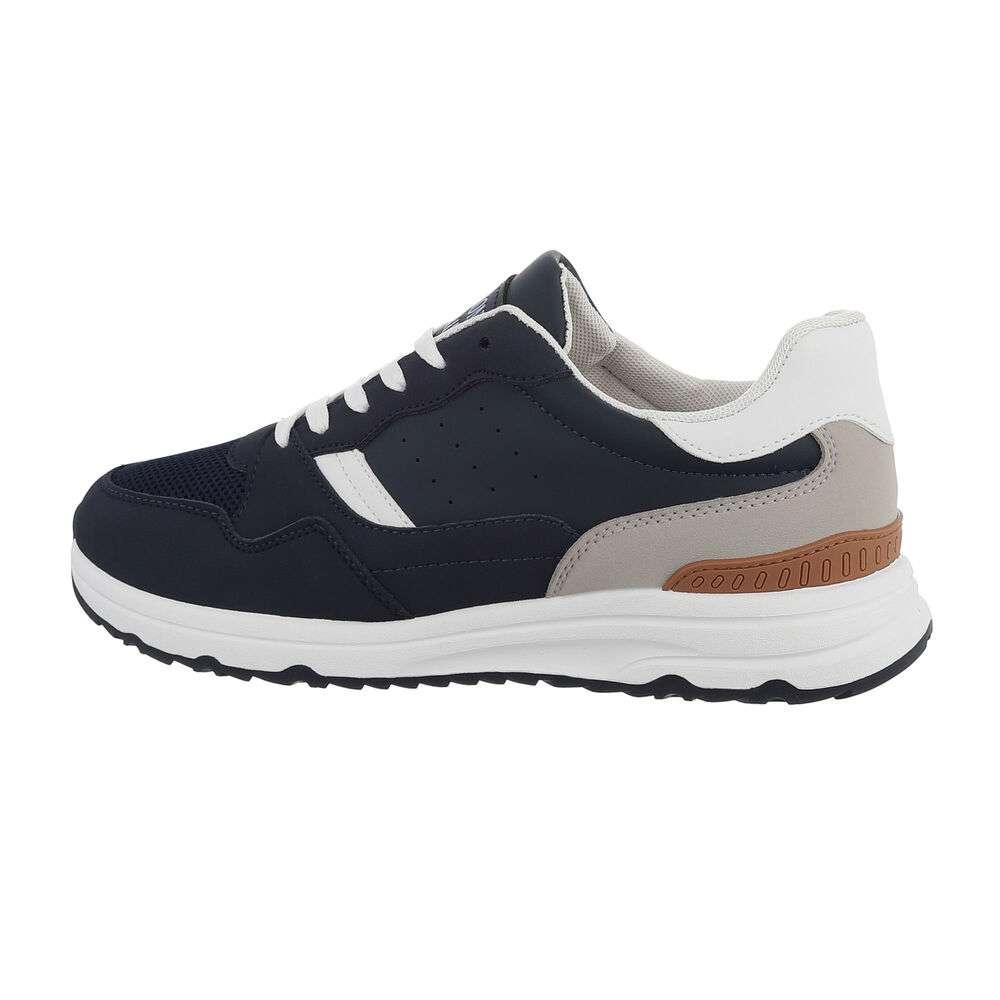 Pantofi casual pentru bărbați - D.blue