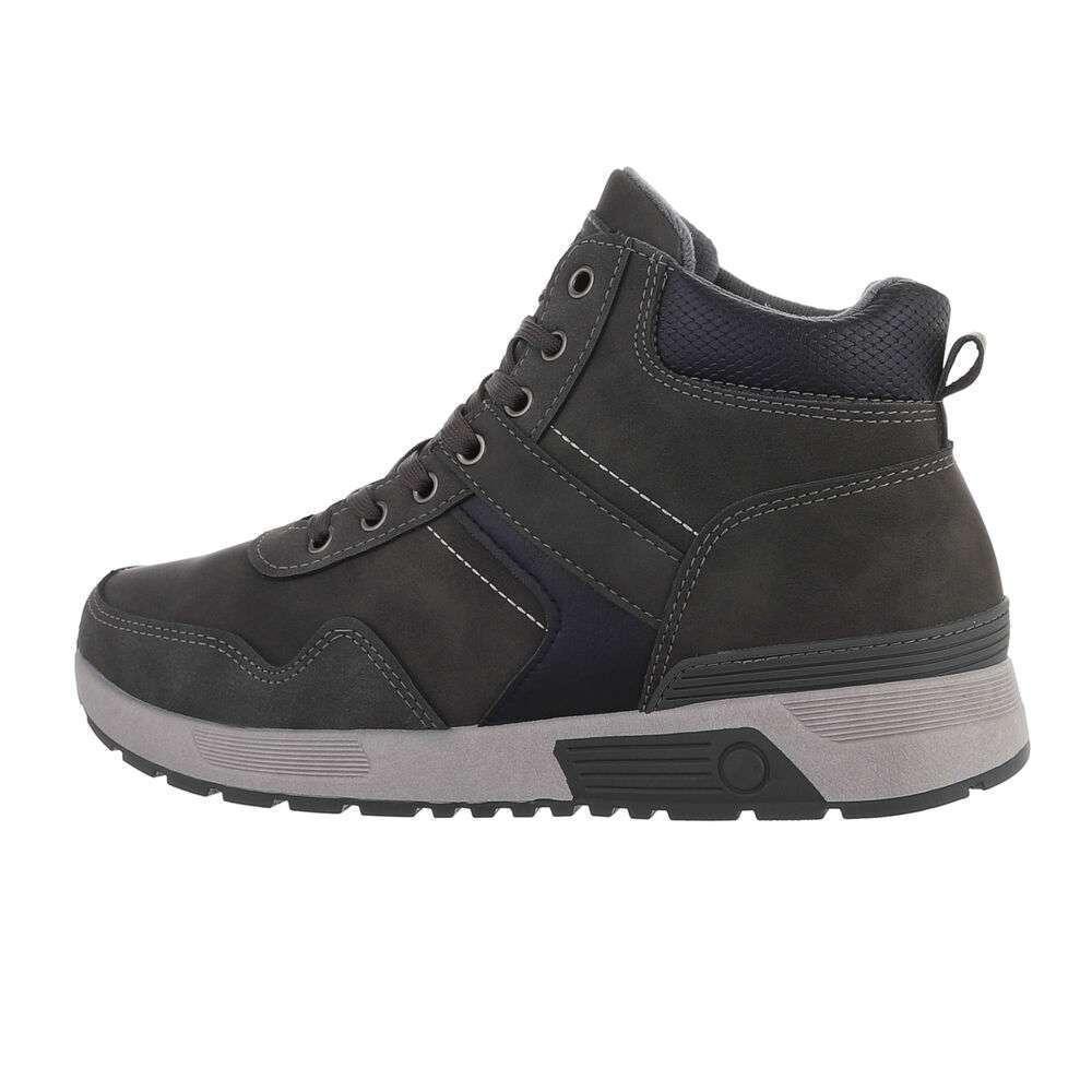 Pantofi casual pentru bărbați - gri închis