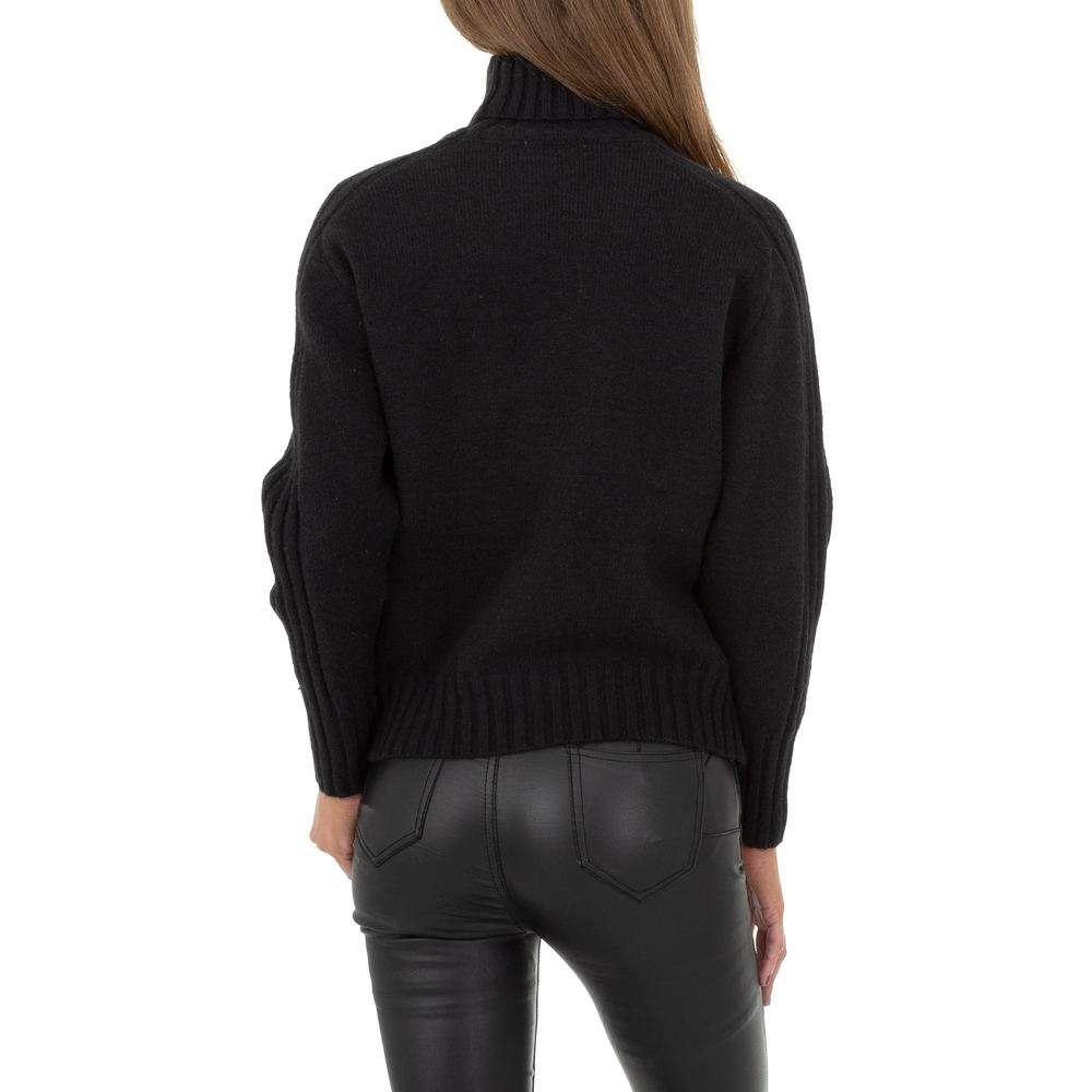 Pulover pentru femei de Drole de Copine Gr. O singură mărime - negru - image 3