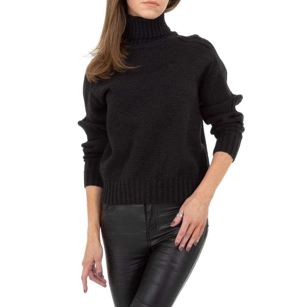 Pulover pentru femei de Drole de Copine Gr. O singură mărime - negru - image 4