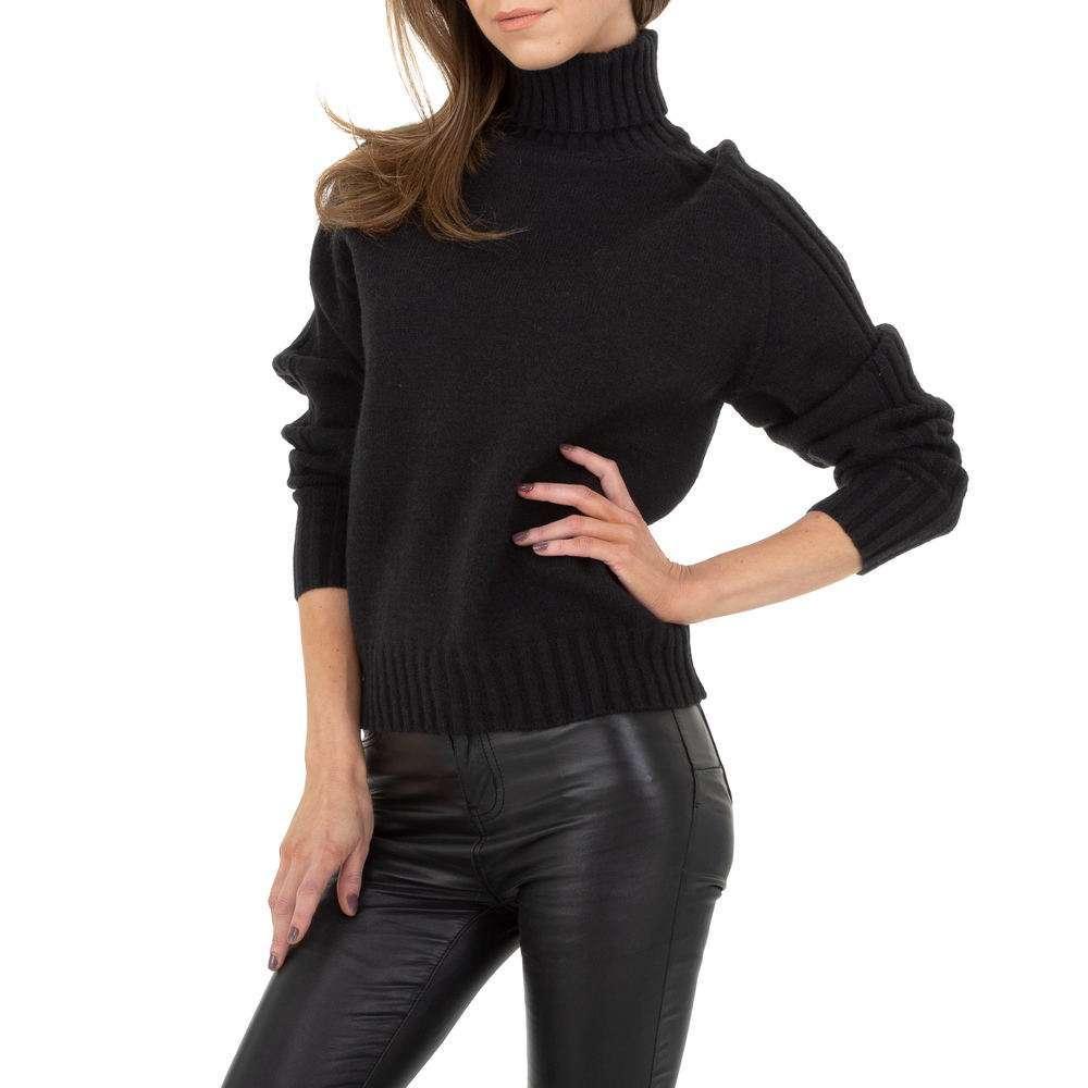 Pulover pentru femei de Drole de Copine Gr. O singură mărime - negru - image 5