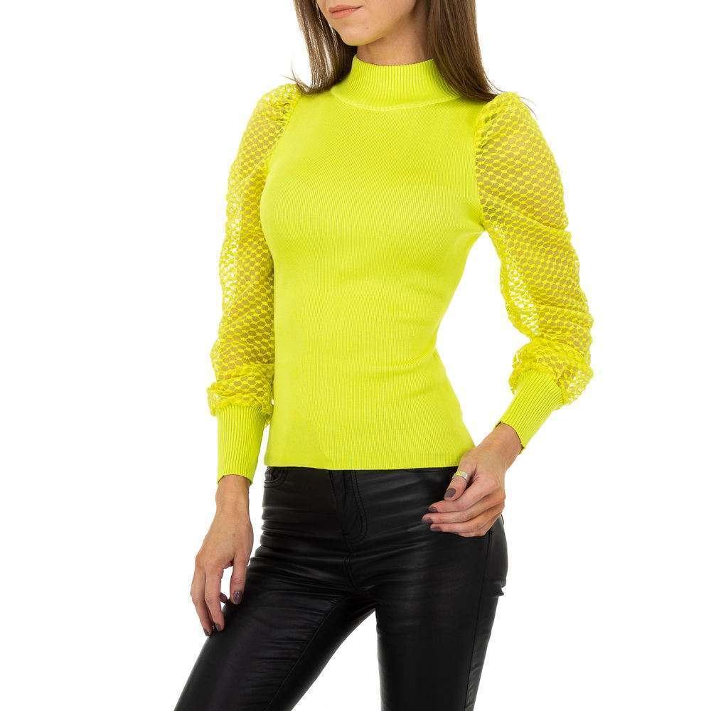 Pulover pentru femei de Drole de Copine Gr. O mărime - galben - image 1