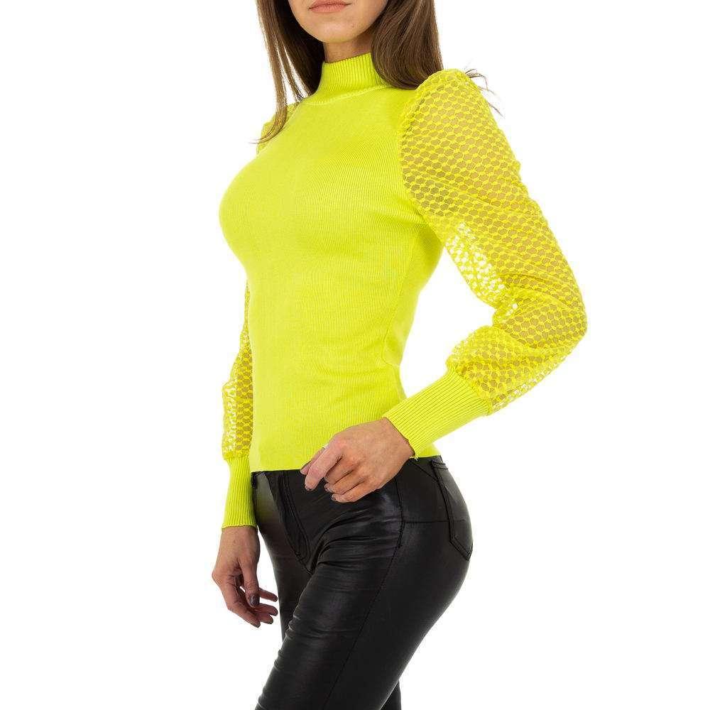 Pulover pentru femei de Drole de Copine Gr. O mărime - galben - image 2