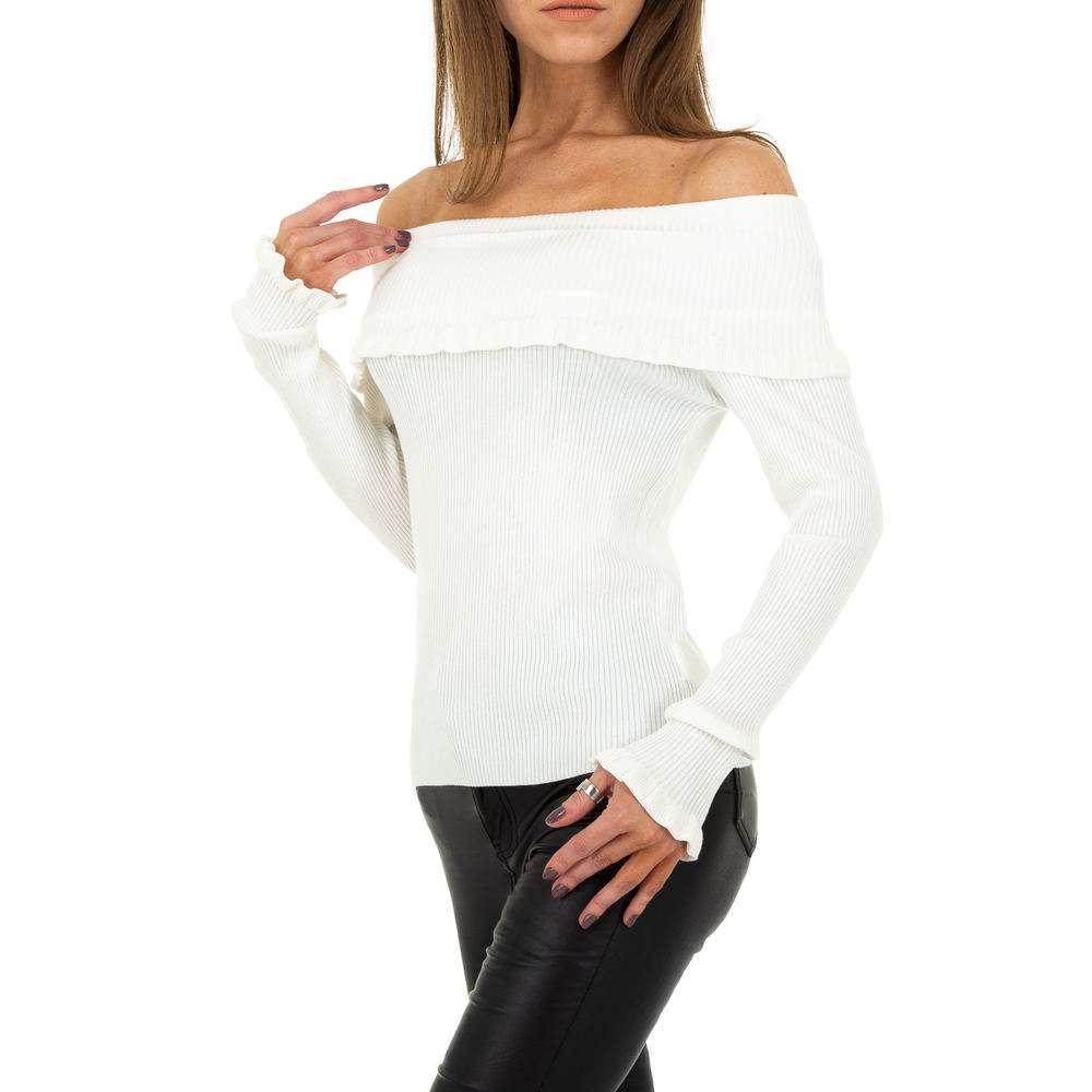 Pulover pentru femei de Drole de Copine Gr. O singură mărime - alb - image 2
