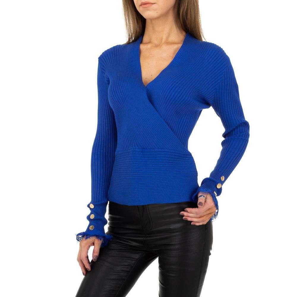 Pulover pentru femei de la Drole de Copine - albastru - image 1