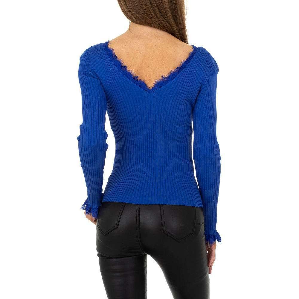Pulover pentru femei de la Drole de Copine - albastru - image 3