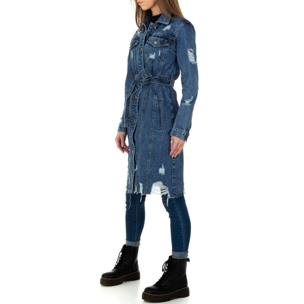 Palton de dama de Laulia - albastru - image 2