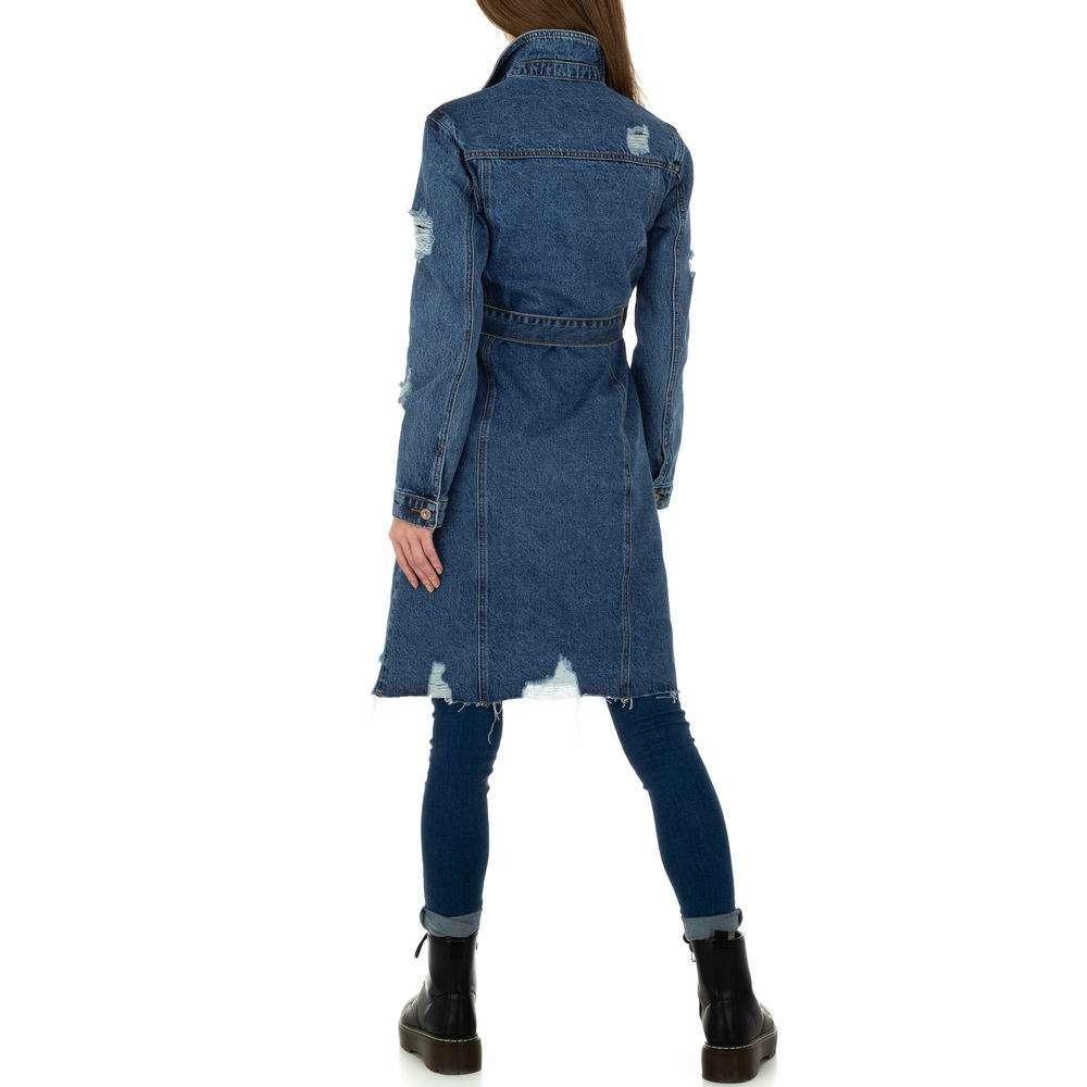 Palton de dama de Laulia - albastru - image 3