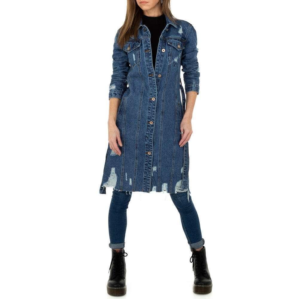 Palton de dama de Laulia - albastru - image 4