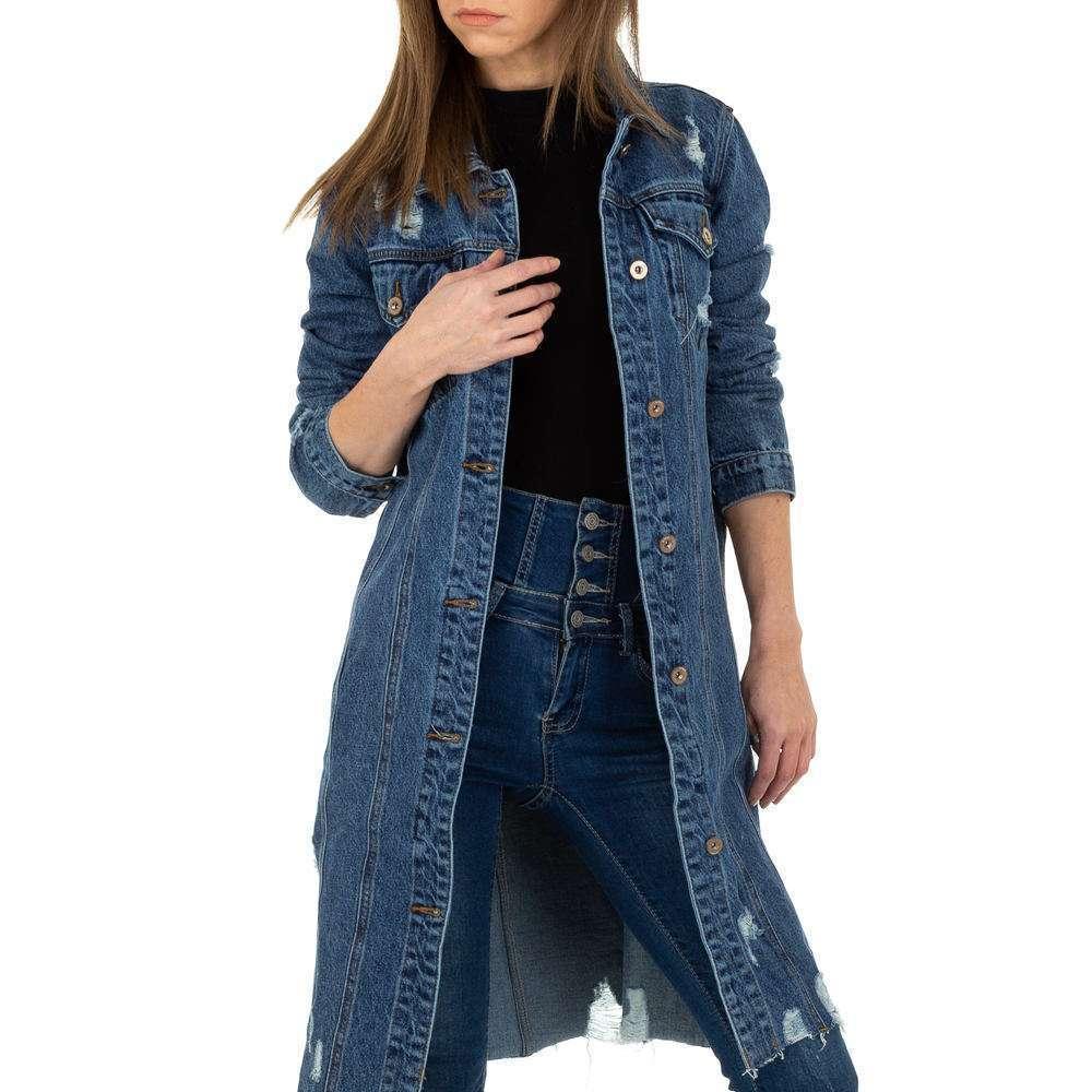 Palton de dama de Laulia - albastru - image 5