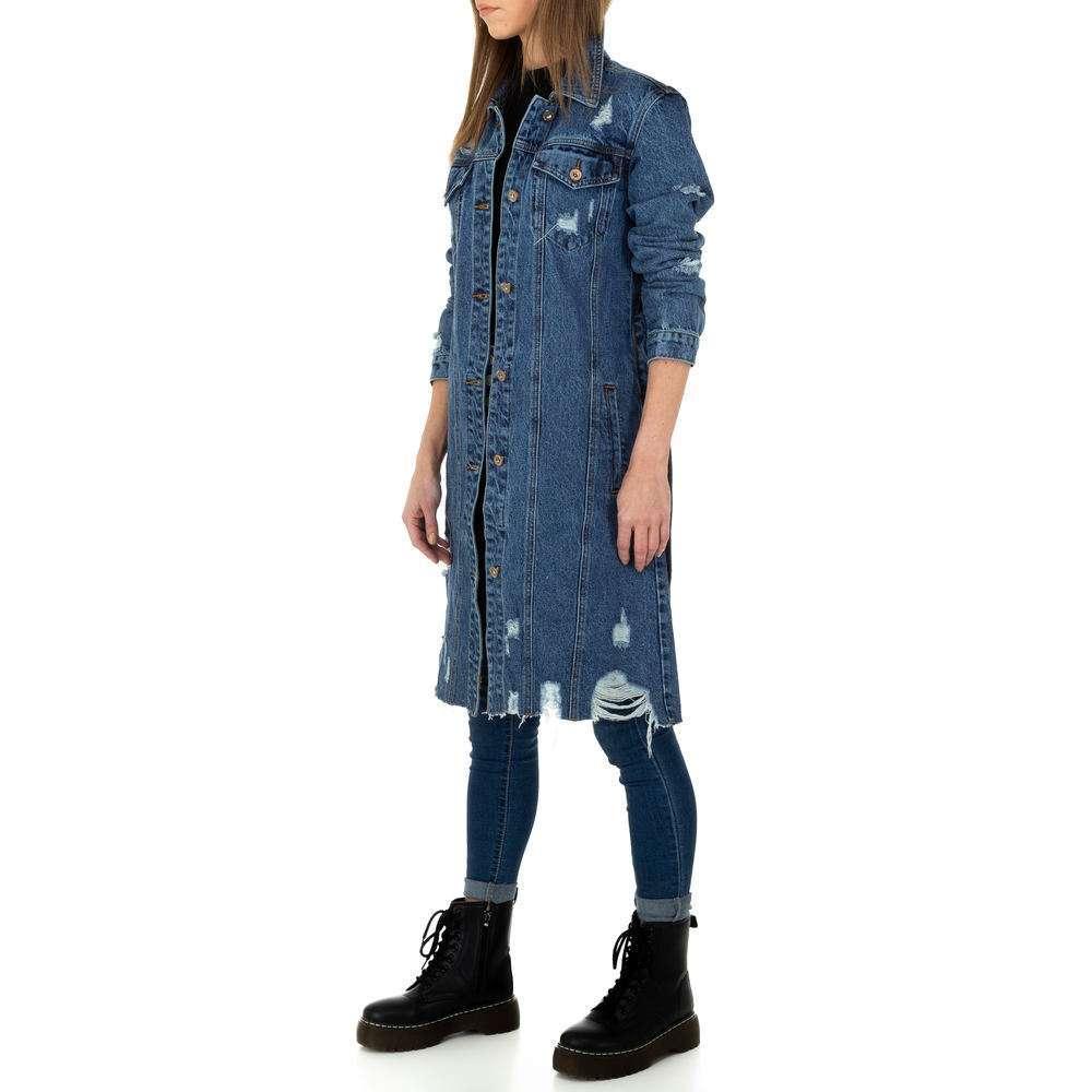Palton de dama de Laulia - albastru - image 6
