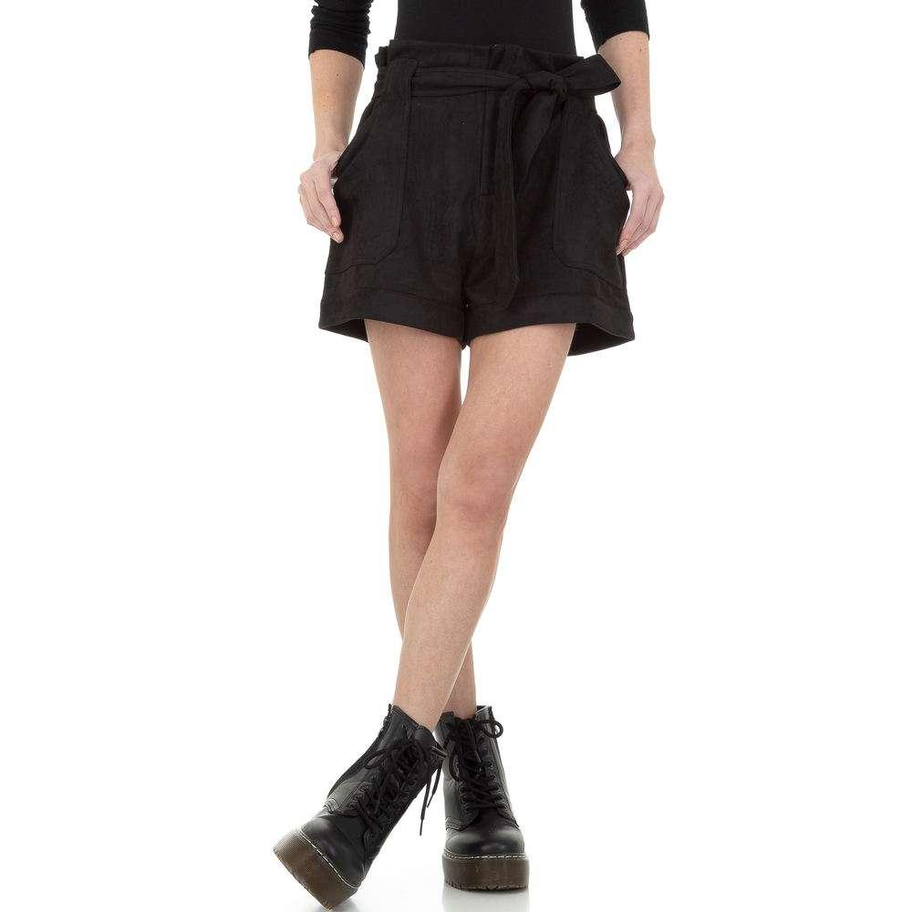 Pantaloni scurți din denimi de femei de la Drole de Copine - negru