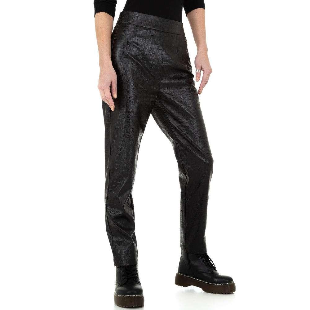 Pantaloni pentru femei de la Drole de Copine - negru - image 1