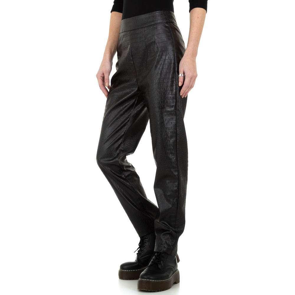Pantaloni pentru femei de la Drole de Copine - negru - image 2
