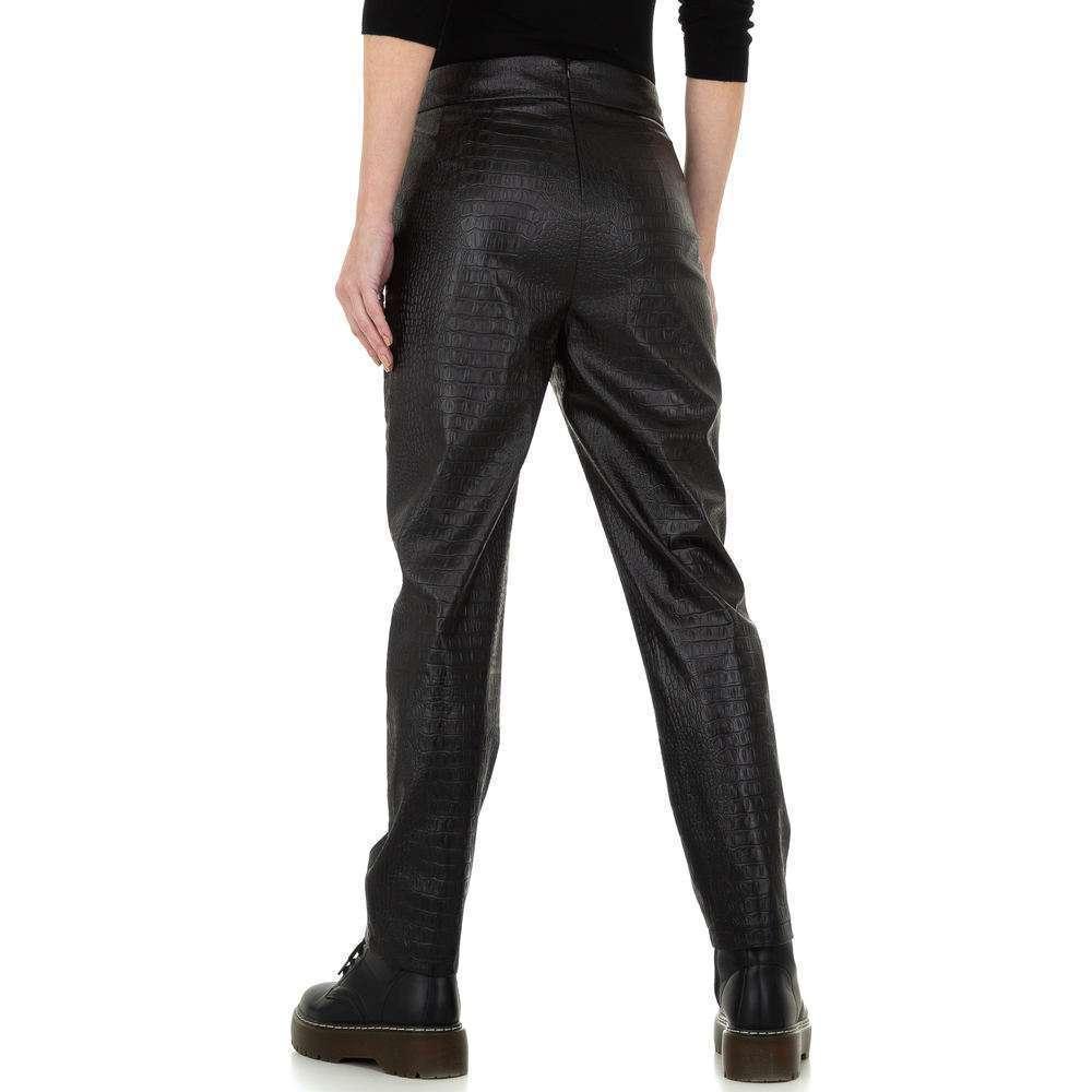 Pantaloni pentru femei de la Drole de Copine - negru - image 3