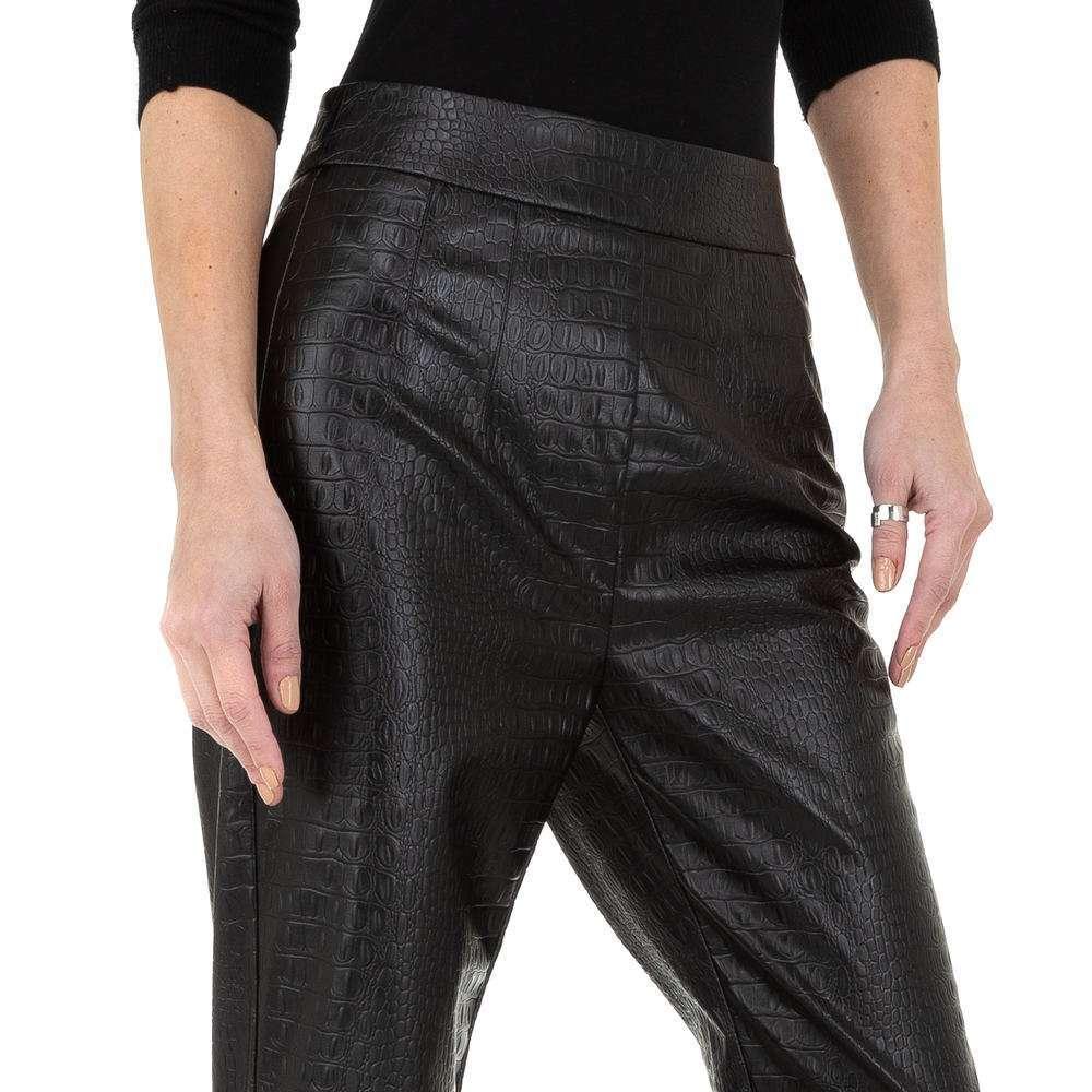 Pantaloni pentru femei de la Drole de Copine - negru - image 4