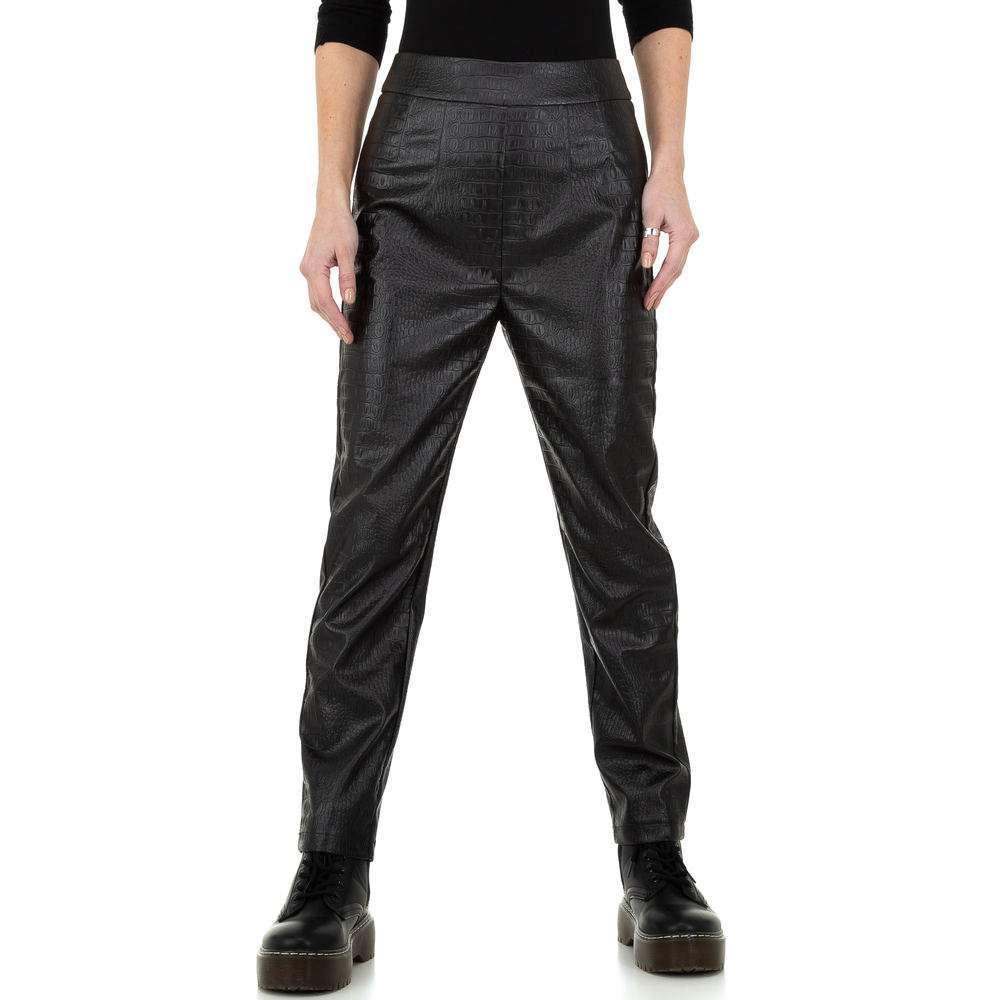 Pantaloni pentru femei de la Drole de Copine - negru - image 5