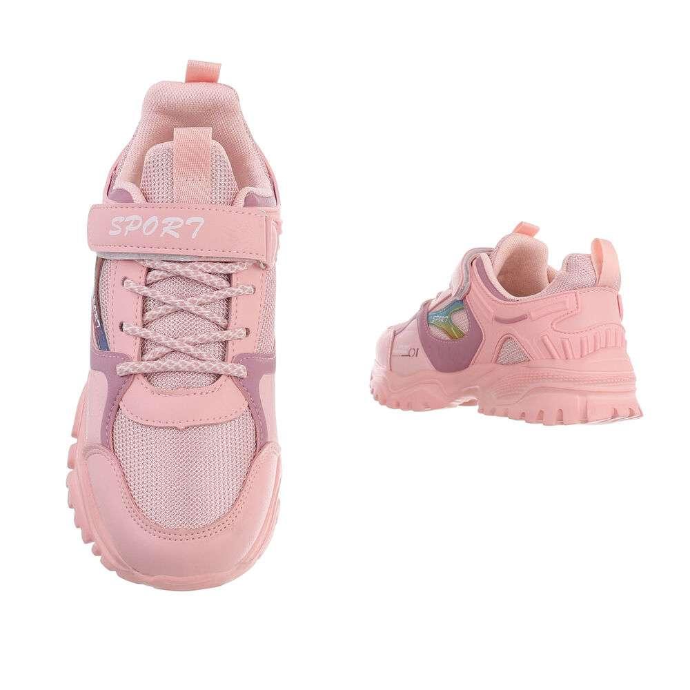 Pantofi casual pentru copii - meatcolor - image 3