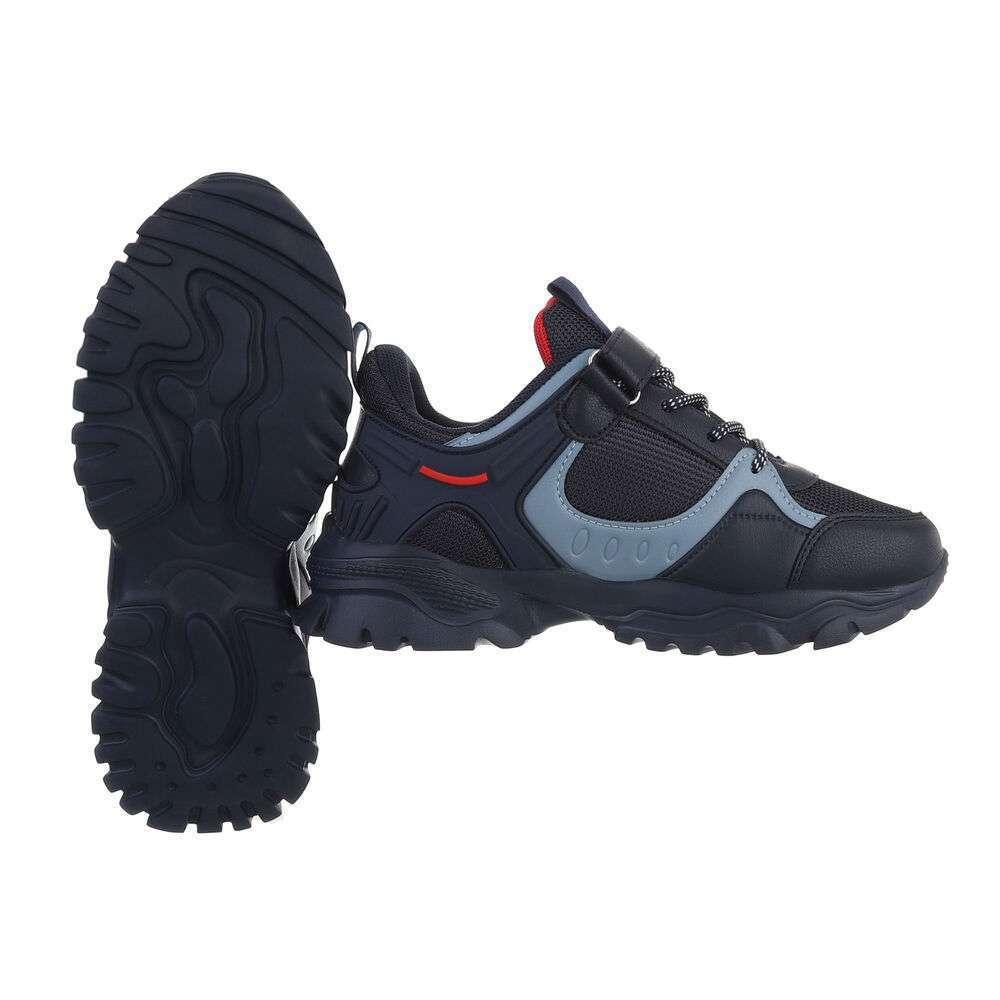 Pantofi casual pentru copii - bleumarin - image 2