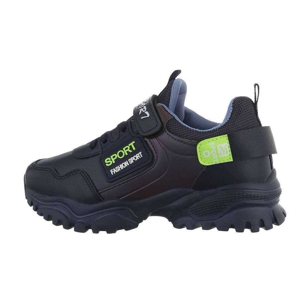 Pantofi casual pentru copii - bleumarin - image 1