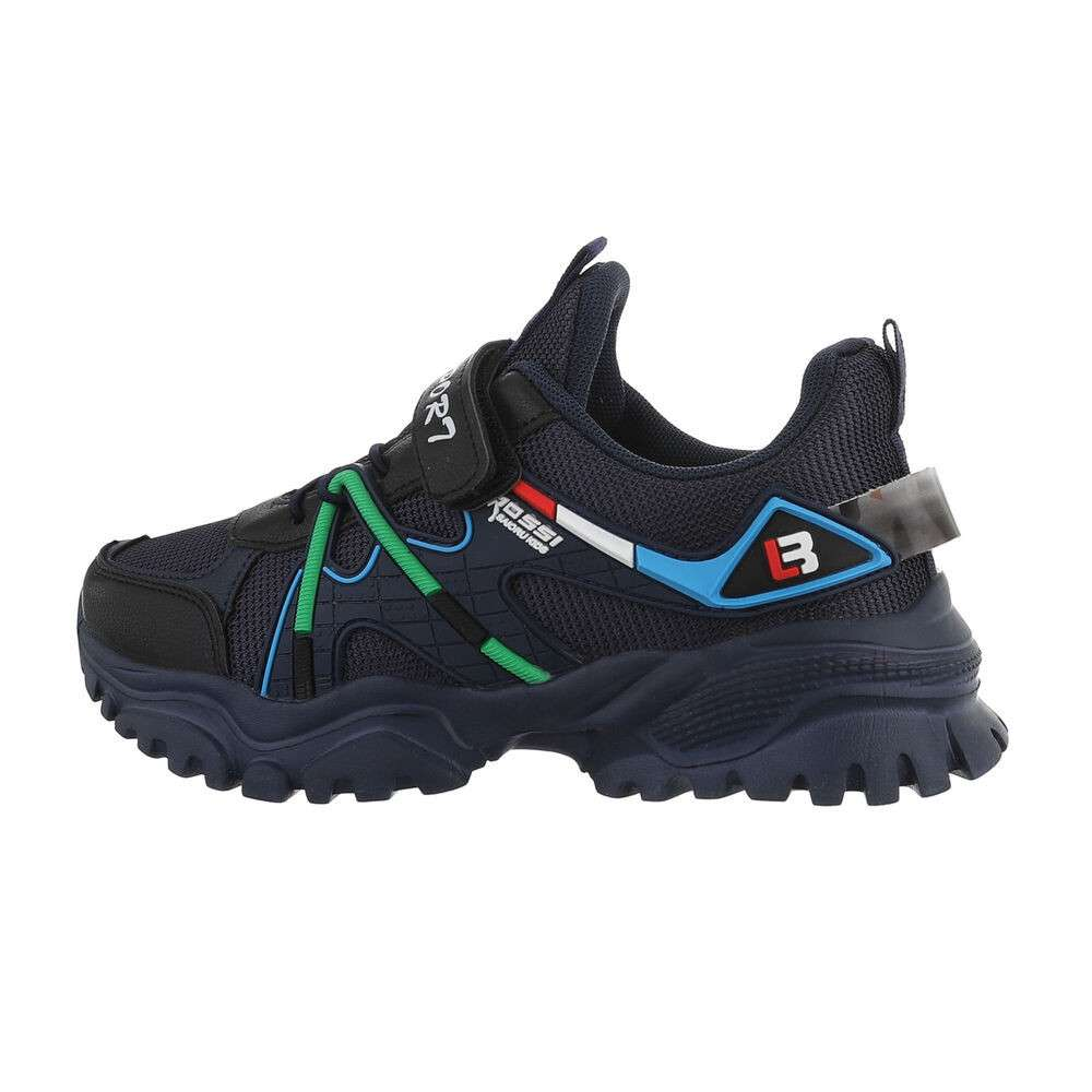 Детская повседневная обувь - темно-синий
