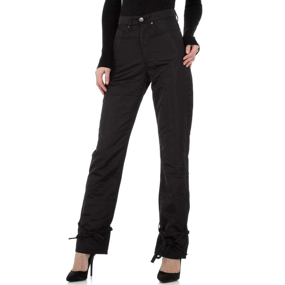 Pantaloni chino femei Laulia - negru - image 1