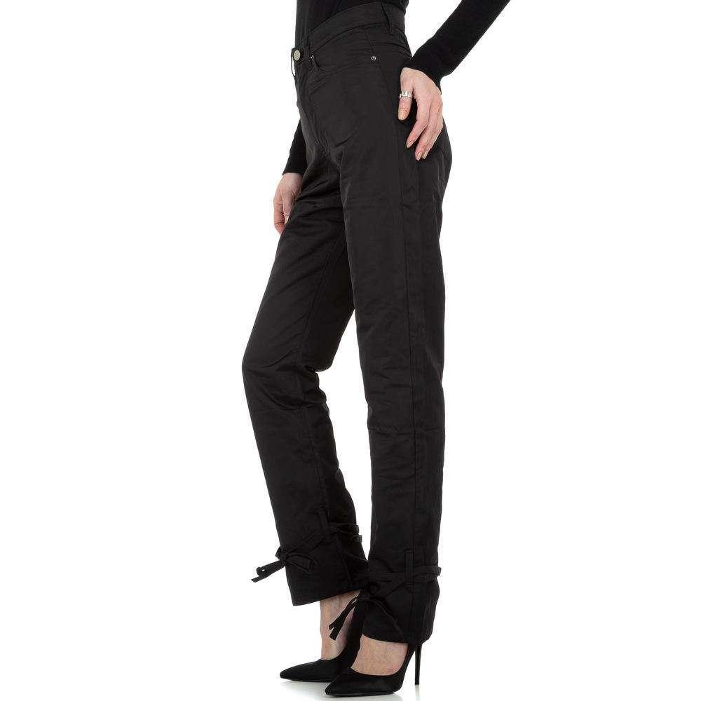 Pantaloni chino femei Laulia - negru - image 2