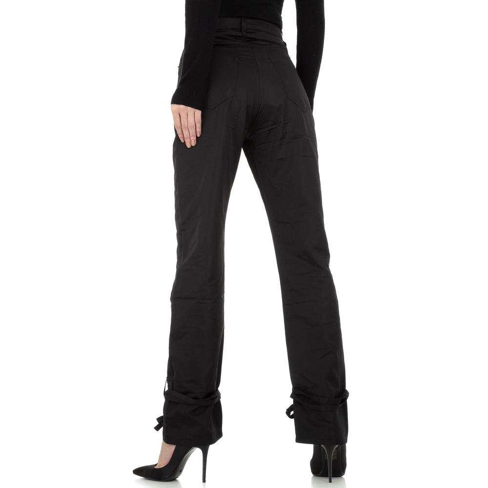 Pantaloni chino femei Laulia - negru - image 3