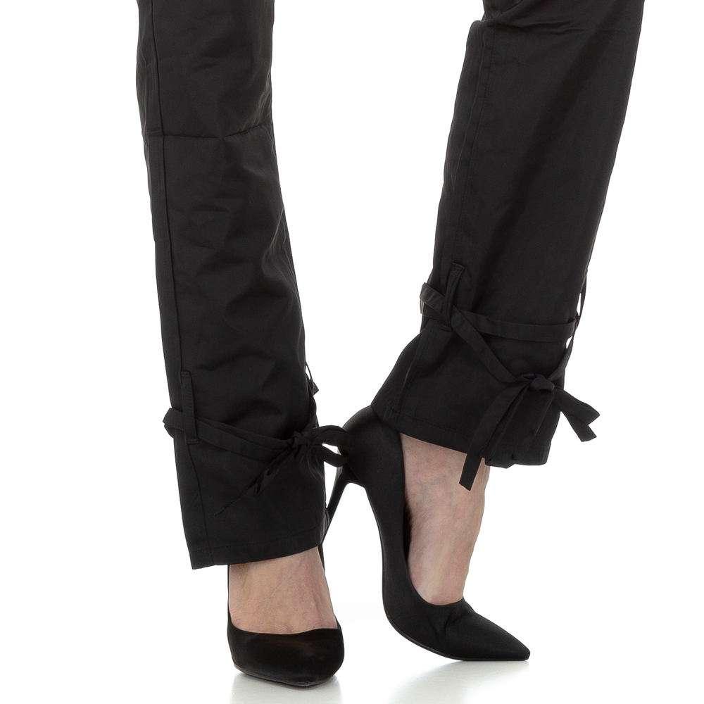 Pantaloni chino femei Laulia - negru - image 4