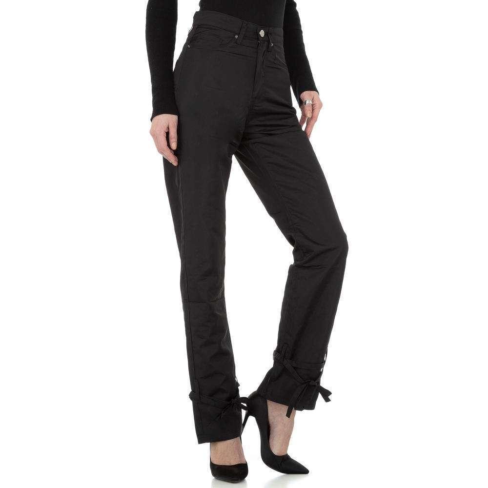 Pantaloni chino femei Laulia - negru - image 5