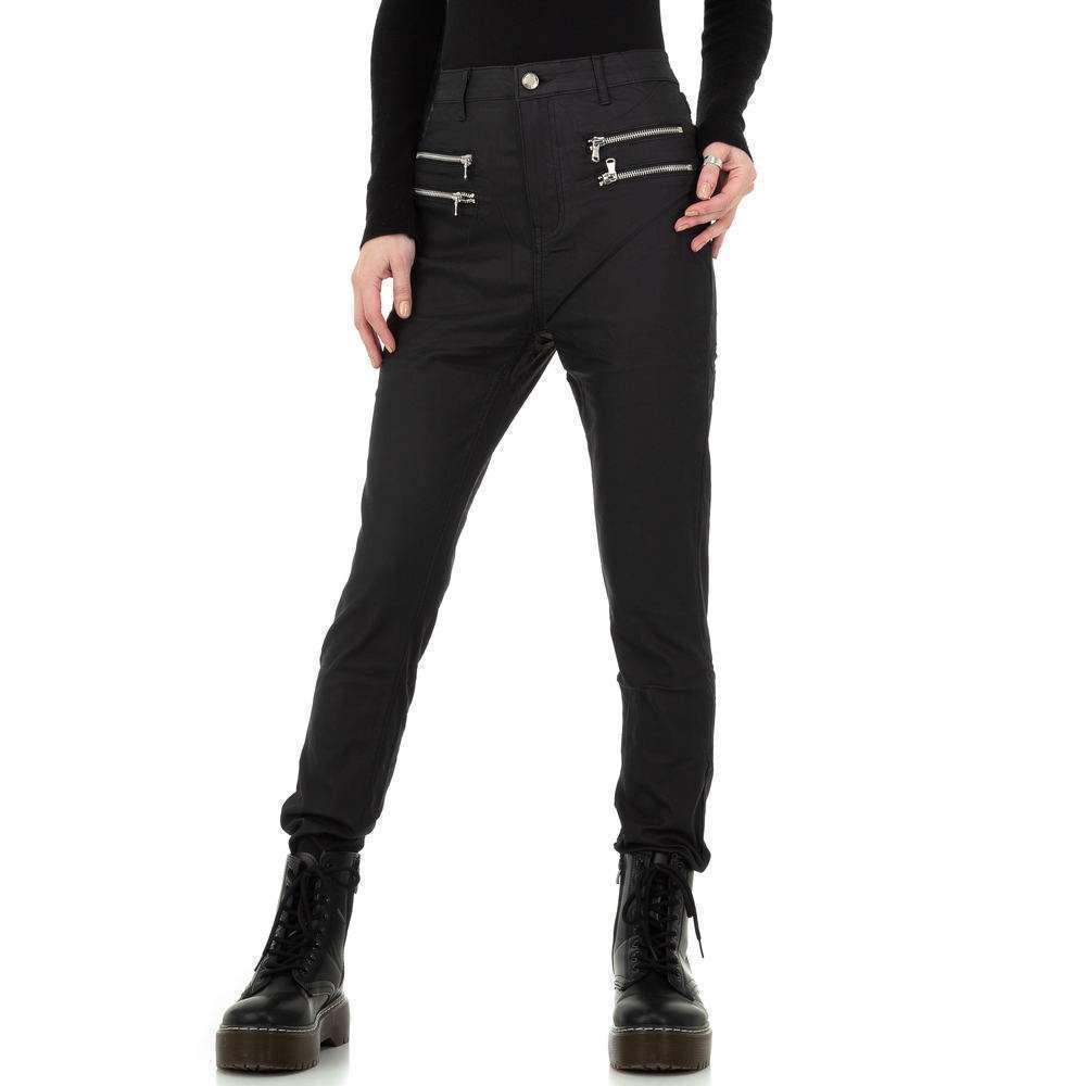 Pantalon en similicuir pour femme par Daysie - noir