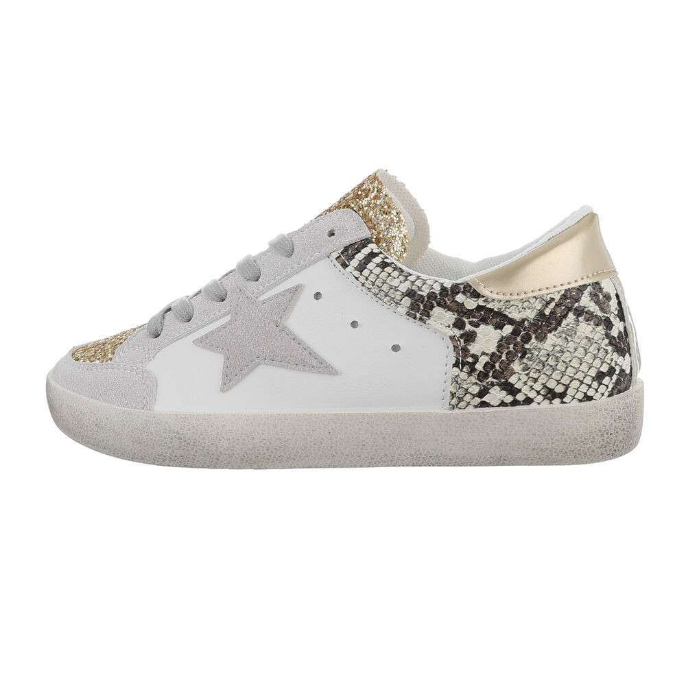 Damen Low-Sneakers - grey