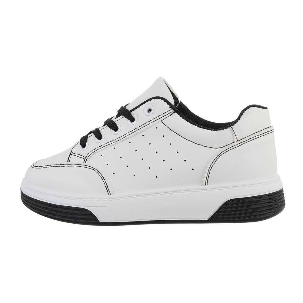 Teniși pentru femei - alb-negru - image 1
