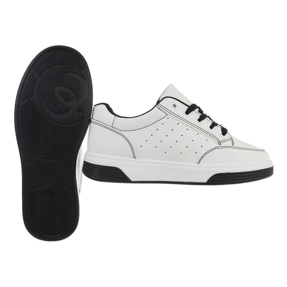 Teniși pentru femei - alb-negru - image 2