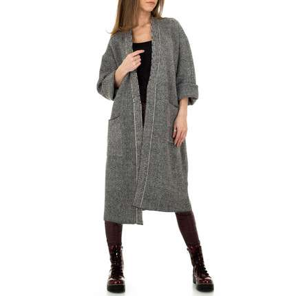 Damen Cardigan von JCL Gr. One Size - grey