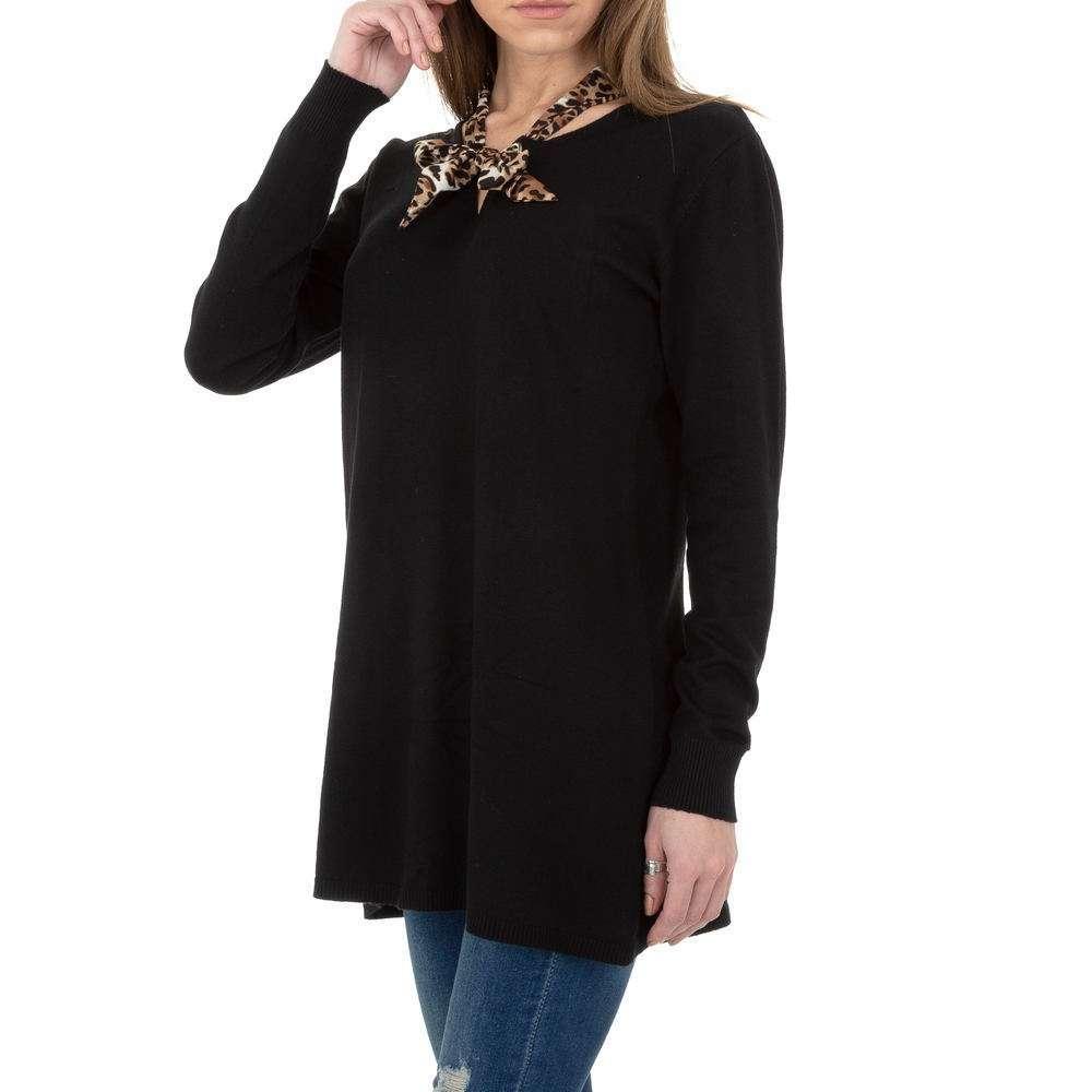 Pulover lung pentru femei de CMP55 Gr. O singură mărime - negru - image 2
