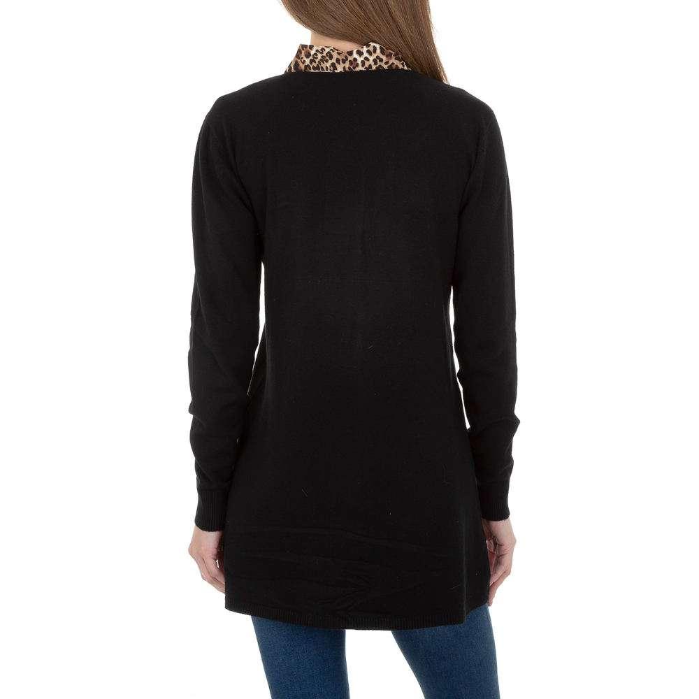Pulover lung pentru femei de CMP55 Gr. O singură mărime - negru - image 3