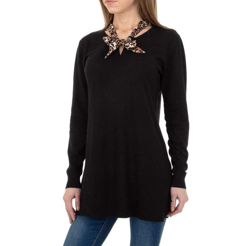 Pulover lung pentru femei de CMP55 Gr. O singură mărime - negru - image 4