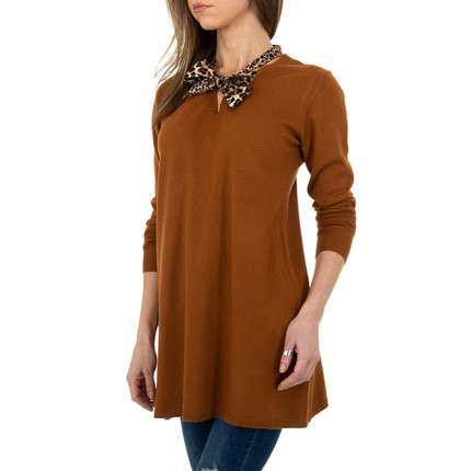 Damen Longpullover von C.M.P.55 Gr. One Size - brown