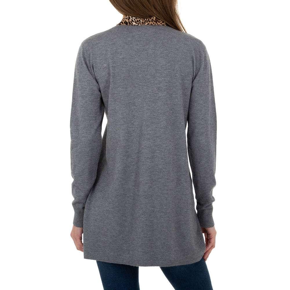 Pulover lung pentru femei de CMP55 Gr. O singură mărime - gri - image 3
