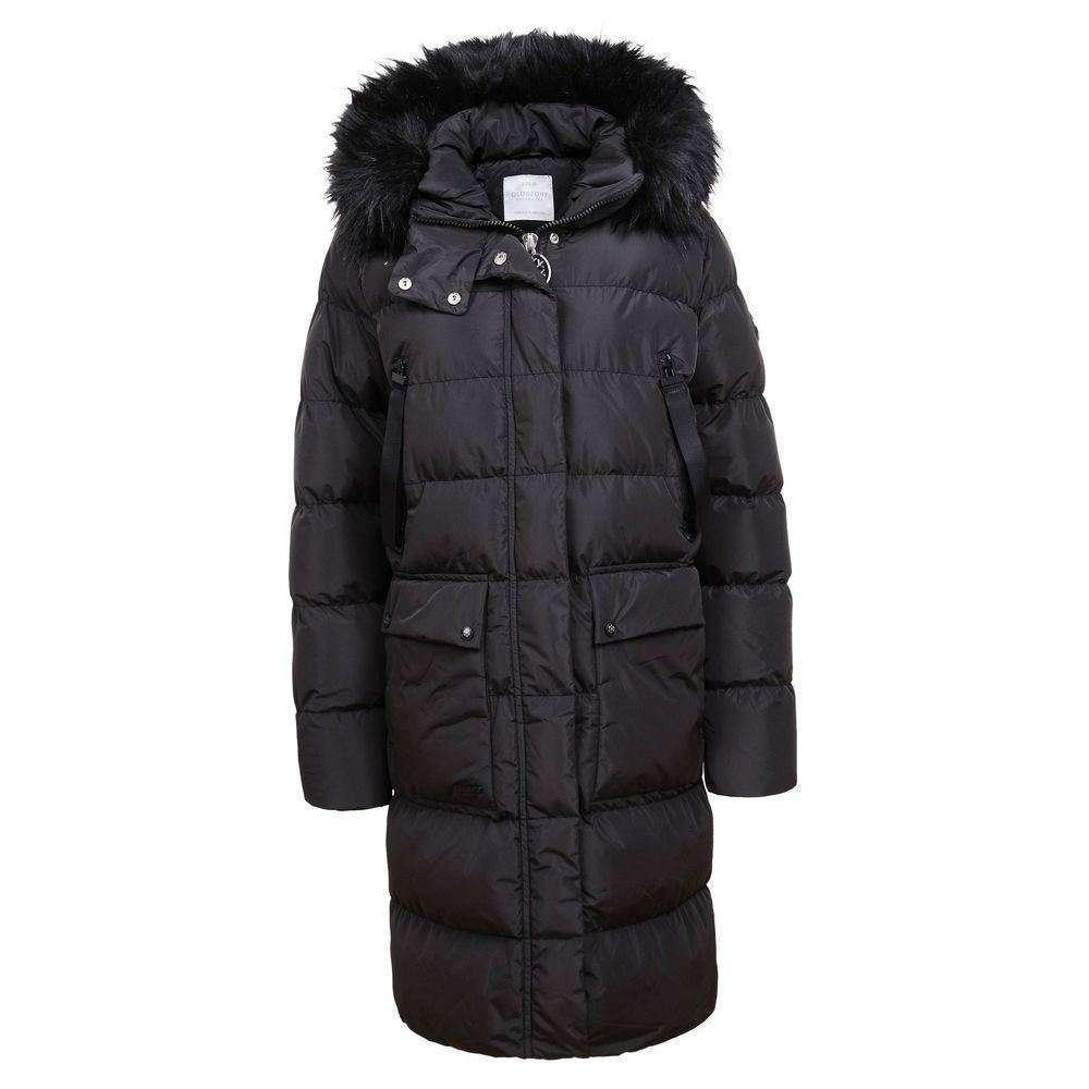 Palton de iarnă pentru femei de Glo Story - negru