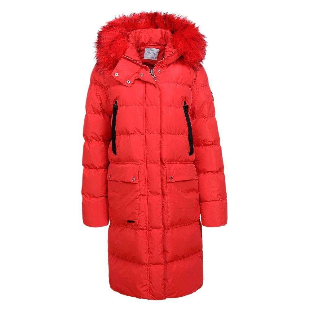 Palton de iarnă pentru femei de la Glo Story - roșu